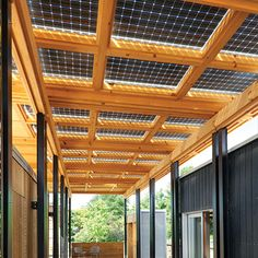 """We didn't want to just tack solar panels onto the house; we wanted to integrate them with the design."""