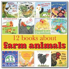 12 Books About Farm Animals (from Gift of Curiosity)