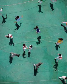 """German photographer Katrin Korfmann, known for her aerial photography of human interaction in public space Aerial Photography, Color Photography, Human Photography, Photography Gallery, Photo D Art, Yamaguchi, Birds Eye View, Looks Cool, Portrait"
