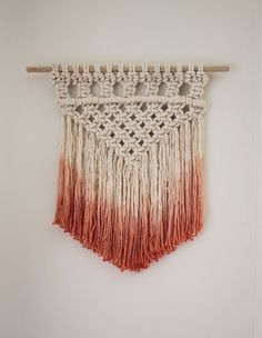 MACRAME WALL HANGINGS - PLACE OF MY TASTE                                                                                                                                                                                 Mais