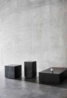 Plinth | Marble cubes by Norm architects for MENU