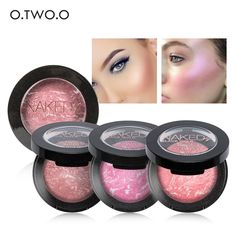 3.77$  Watch now - 8 Colors BY O.TWO.O Blush Makeup Cosmetic Natural Baked Blusher Powder Palette Charming Cheek Color Make Up Face Blush   #buyonline