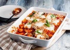 Gnocchi and vegetable bake image