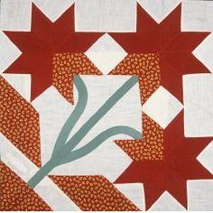 Cleveland Tulip quilt block