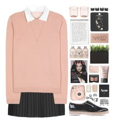 """PREPPY STYLE // TOP SET 11.05.16"" by emmas-fashion-diary ❤ liked on Polyvore featuring Topshop, RED Valentino, Attilio Giusti Leombruni, NARS Cosmetics, H&M, Monsoon, Surratt, Urban Decay, Dot & Bo and Maison Margiela"