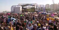 Festival de música gospel reúne 150 mil pessoas em Copacabana, Rio