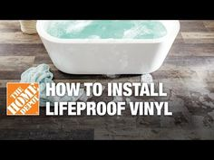 How to Install LifeProof Vinyl Flooring - YouTube
