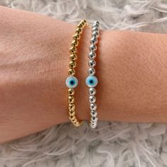Candy Bracelet, Name Bracelet, Evil Eye Bracelet, Beaded Bracelets Tutorial, Beaded Bracelet Patterns, Handmade Bracelets, Preppy Bracelets, Colorful Bracelets, Eye Jewelry