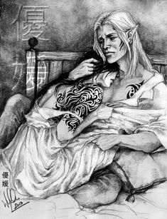 Zevran's comfort by yuhime