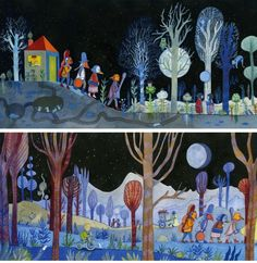 Anna Griot-Illustration Portfolio : Livres