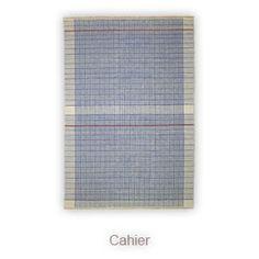 Graph Paper rug by Alberto Artesani for Nodus.   CAHIER  INDIA   SUMAK , 6 MM
