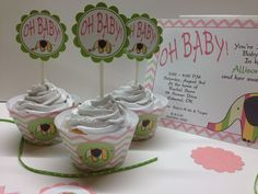 Cupcake Wrappers & Toppers