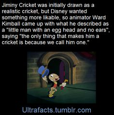Jiminy Cricket once Pinterest Jiminy cricket