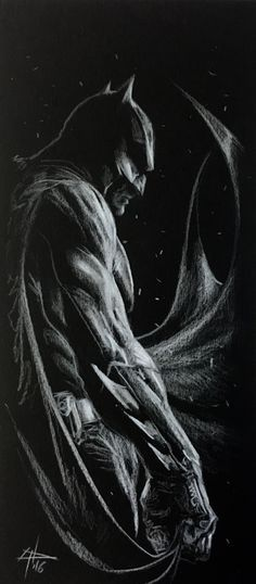 "gabrieledellotto: """"I like draw Batman, 16!"" "" *"