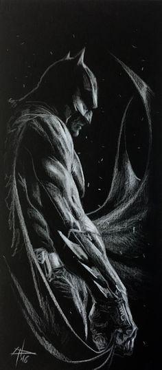 "gabrieledellotto: """"I like draw Batman, 16!"" "" *"