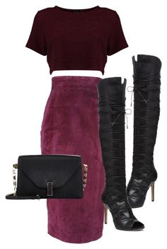 """Untitled #516"" by jazz-mae on Polyvore featuring Vince Camuto, L'Wren Scott and Valextra"