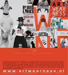New design @Artwearness. 'design nr.100' by mao 2016. June 2016 at www.artwearness.com