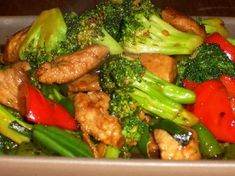 Recipe for Stir Fry with Pork and Veggies from Kalyn's Kitchen