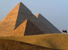 Giza Pyramids - Egypt >> I will visit here someday...