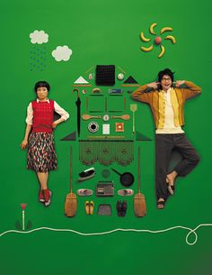 poster | hairi katagiri × osamu mukai