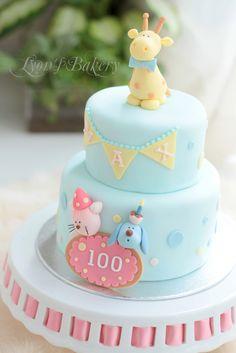 Animal Birthday Cake 2