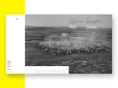 Aldo Sessa - Interaction 1 (concept) by Adrián Somoza #Design Popular #Dribbble #shots