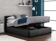 Yardley Ottoman Bed Frame £249 fake leather though