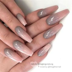 If you dont like fancy nails, classy nude nails are a good choice because they are suitable for girls of all styles. And nude nails have been popular in recent years. If you also like Classy Nude Nail Art Designs, look at todays post, we have col Ombre Nail Designs, Acrylic Nail Designs, Nail Art Designs, Nails Design, Acrylic Nails, Uv Gel Nails, Nail Nail, Stiletto Nails, Acrylics
