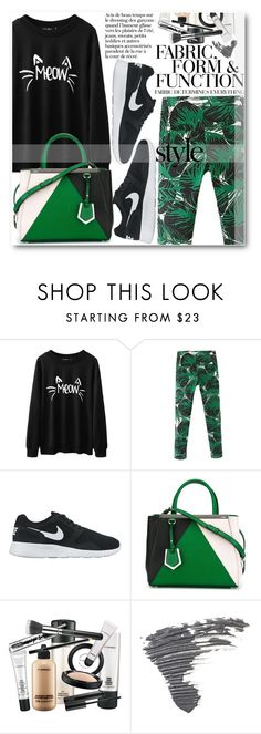 """""""Street Style"""" by stylemoi-offical ❤ liked on Polyvore featuring NIKE, Fendi, Vera Wang, Ilia, Mercedes-Benz and stylemoi"""