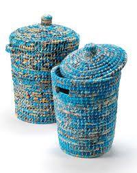 Image result for sari baskets Red Leggings, Black Velvet, Winter Boots, Home Accessories, Artisan, Laundry Baskets, Sari, Color, Home Decor