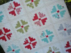 First quilt from the Simply Fat Quarters Showcase! #fqs #quilt #cherrychristmas