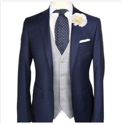 nave suit grey waistcoat nude tie - Google Search
