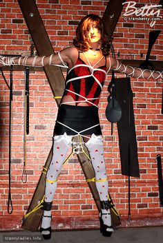Bondage crossdressing fetish