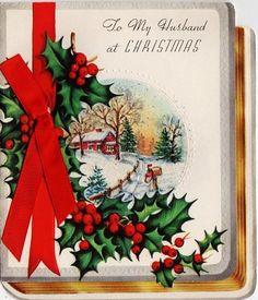 Christmas card to the hubs.