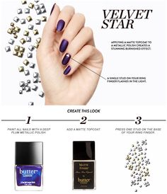 How To: Velvet Star Mani