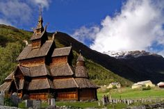 Borgund Stave Church, Norway -- 15 The world's most beautiful churches in the heart of nature