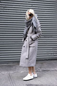 Winter Inspiration: All-Grey Everything
