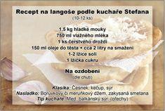 Recept na langoše podle kuchaře Stefana