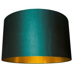 Handmade drum lampshades using a beautiful Prestigious Textiles fabric with a gold lining. £40.00
