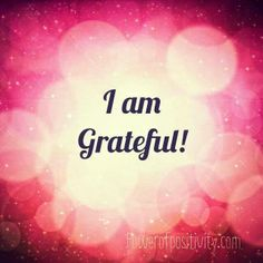 Wake up every day with gratitude in your heart! There is ALWAYS something to be grateful for :)