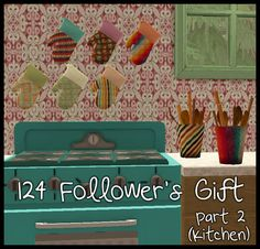 Part 1 is here. Here's Part Here you're getting six recolours of the Seasons oven mitts and ten of Billy Jean's spoon holder mesh. Again, the file names are numbered, so it's easy to remove any. Sims 2 House, Billy Jean, Play Sims, Sims 1, Kitchen Decor, Maxis, Spoon, Oven, Gifts