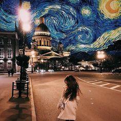 Fotografie Staking No BS How To Photoshop Graphic Design Photomontage, Artsy Bilder, Creative Photography, Art Photography, Van Gogh Arte, Artsy Photos, Photo Instagram, Instagram Repost, Insta Instagram