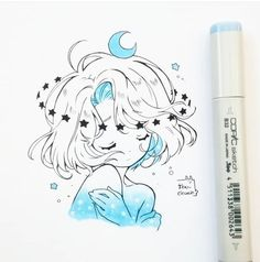 I don't know if you noticed with Pairy but I'm a fan ac … – chibi – Home crafts Copic Drawings, Kawaii Drawings, Cute Drawings, Arte Copic, Copic Art, Manga Drawing, Manga Art, Drawing Sketches, Chibi Anime