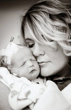 NICU baby and mother