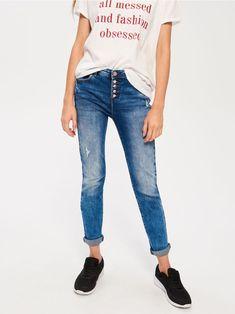 Z2018  Przecierane jeansy SKINNY