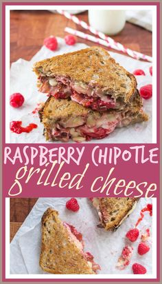 Raspberry Chipotle Bacon Grilled Cheese // Well-Plated