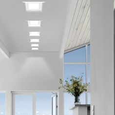 Round recessed lighting is great, but there's something so elegant and modern about the squared look of these Invisibili D8-6046 Recessed Lights. http://www.ylighting.com/blog/beauty-of-recessed-lighting/