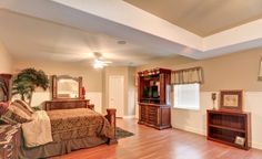 4th bedroom in lower level. Could be used as an in-law suite.