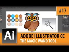 Adobe Illustrator CC 2014 - Magic Wand Tool - Episode #17 - YouTube