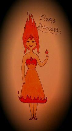 Flame Princess fanart - Adventure Time
